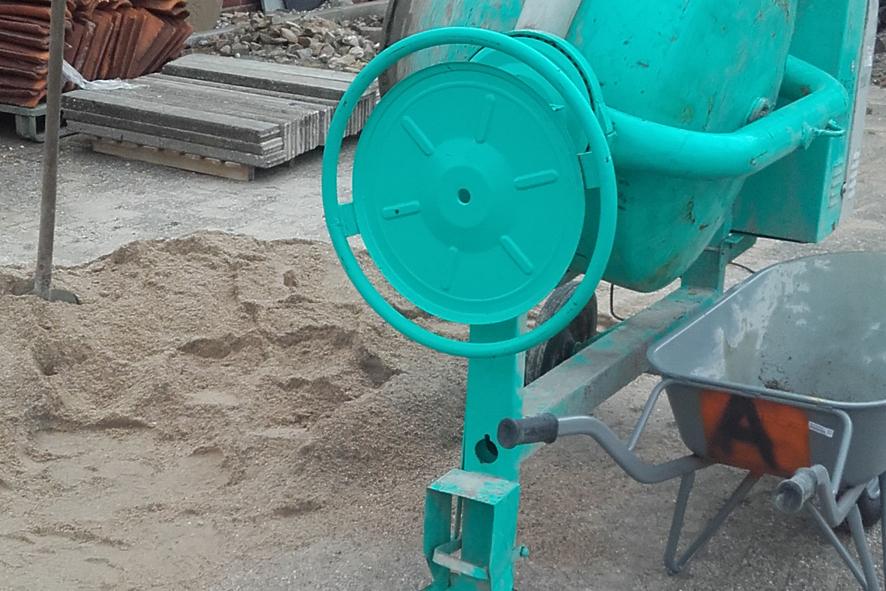Andre Raterink Bestratingen betonmolen